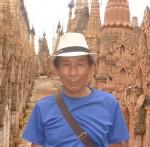 ミャンマーカックーにて