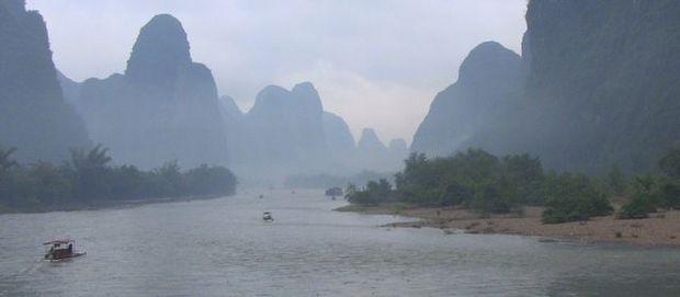 璃江下り(桂林)