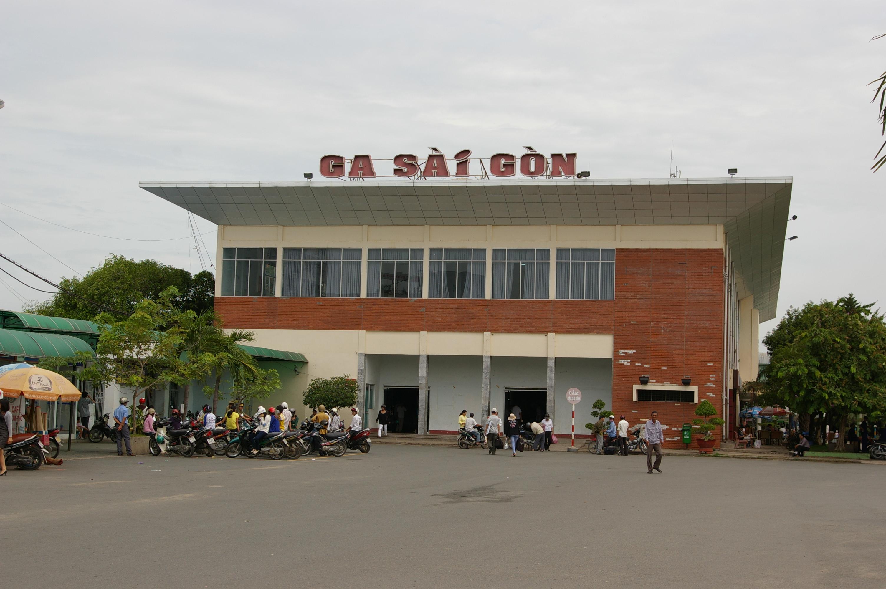 ホーチミンにある統一鉄道サイゴン駅