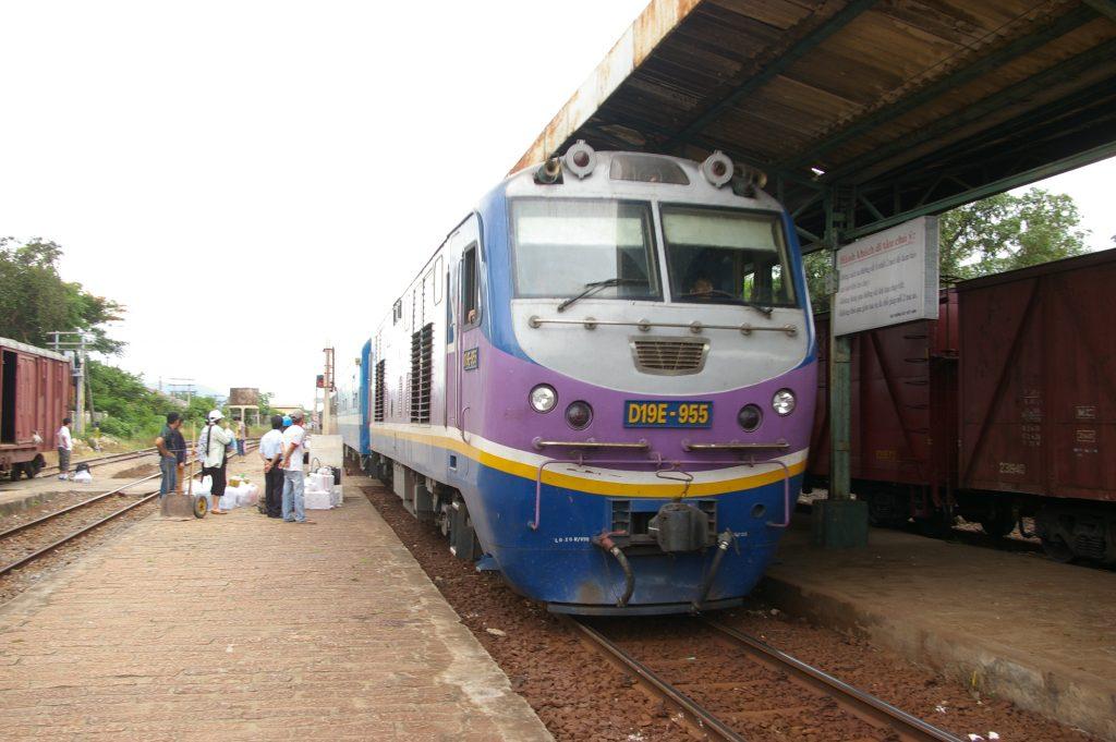 ベトナム統一鉄道でムイネからフエへ