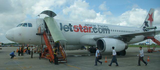 ジェットスターでホーチミンへ (fly to Ho Chi Minh by Jetstar Pacific)