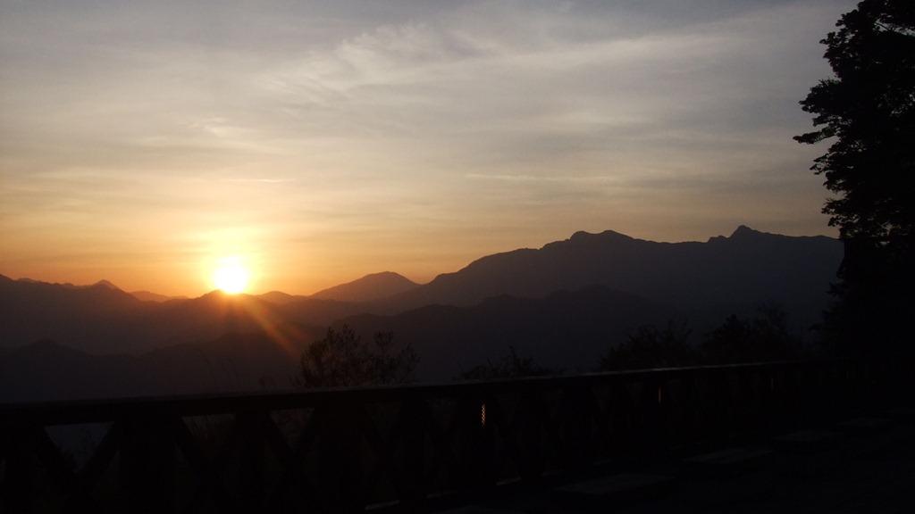 台湾で一番高い山、玉山(3,952m)