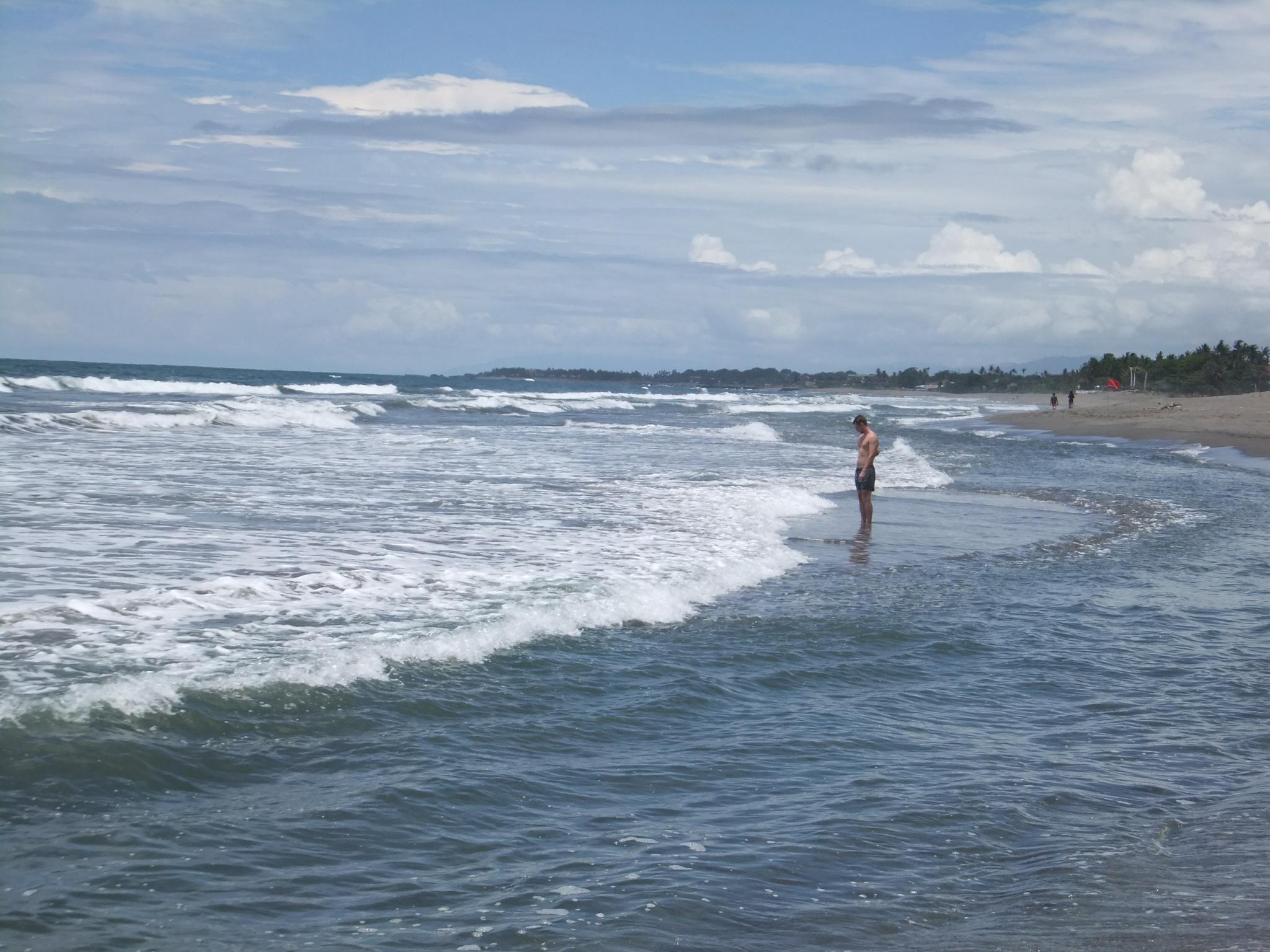 バリ島チャングーのビーチ