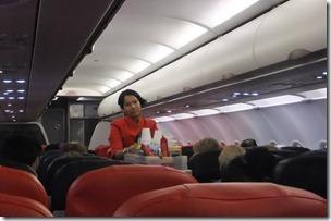エアアジアの機内サービス