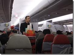 エアアジアの機内食は有料