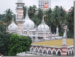 クアラルンプール街歩き/市内最古のイスラム寺院マスジット・ジャメ