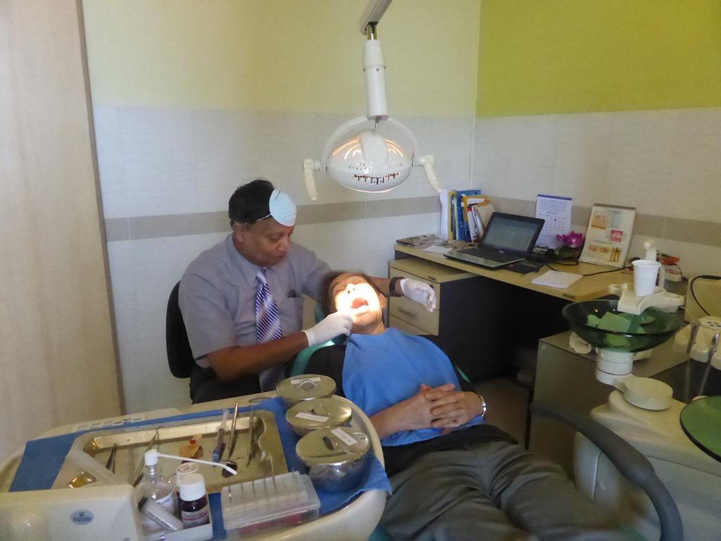 コロンボにある総合病院の歯医者