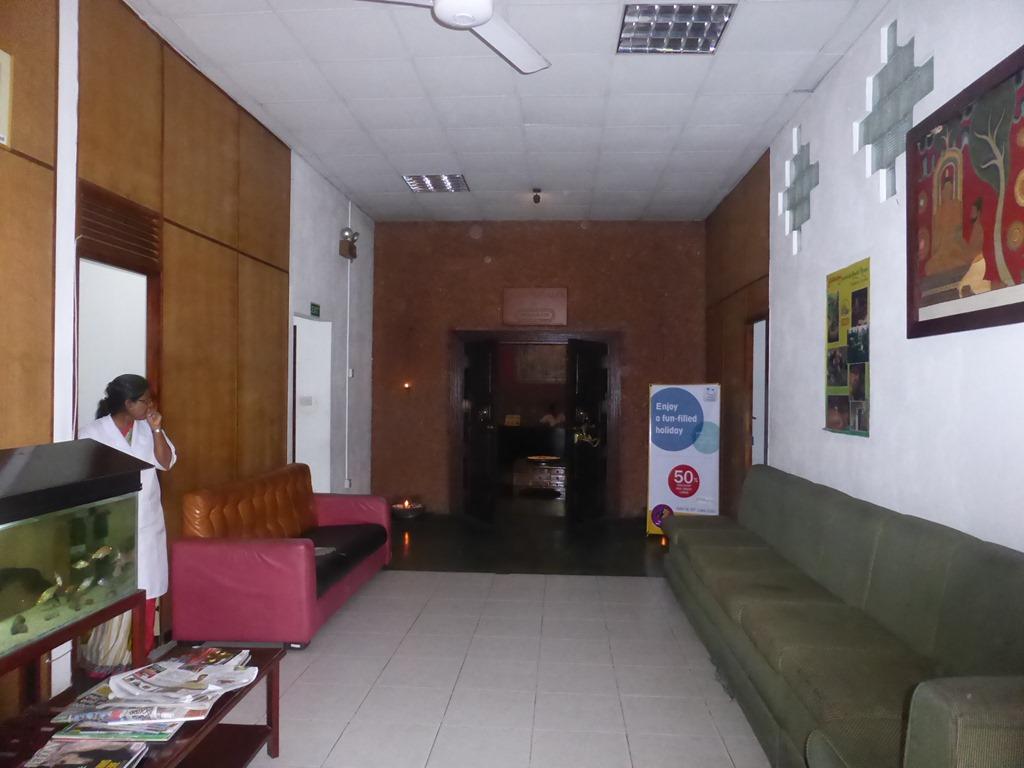 アーユルヴェーダ・ホスピタルの施術室