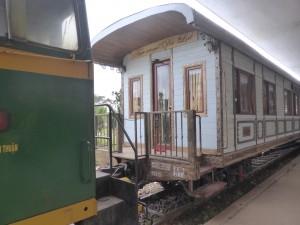 ダラットからチャイマットへ行く観光列車