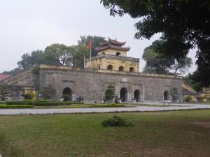 タンロン遺跡の正門
