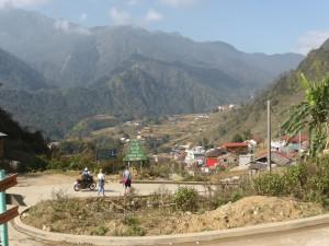 近くの少数民族の村、CatCat(カットカット)に向かう