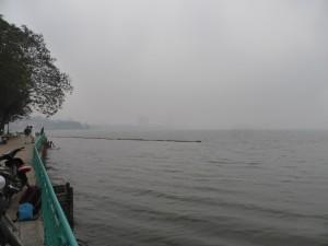 きれいな湖、タイ湖