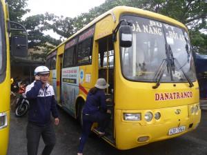 ダナンからホイアンへのバス
