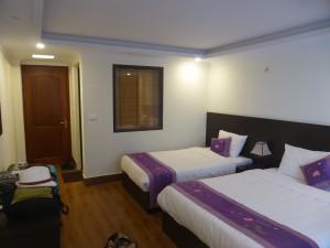 宿泊したサパロマンスホテル