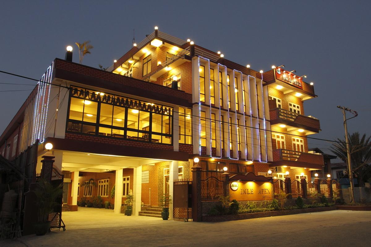 インレー湖のオススメホテル、インレーエイペックスホテル(Inle Apex Hotel)