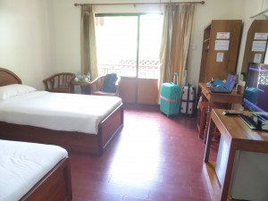 ホテル ゼインのツインの部屋