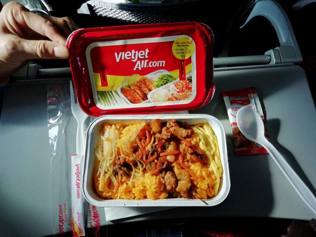 ベトジェットエアの機内食