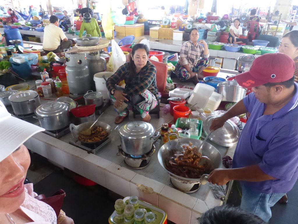 ハーティエンの魚市場