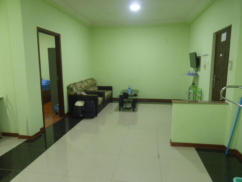ヤンゴン、ウィナーレジデンス1ベッドルーム