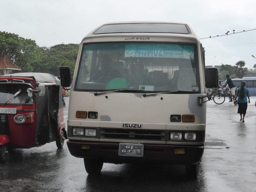 ACが付いたインターシティバス