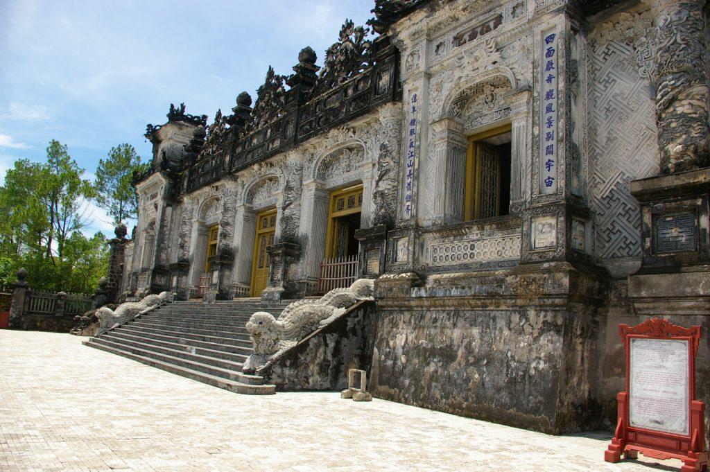 カイディン帝廟の建物